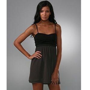 Theory Cimmy Sweetheart Silk Dress